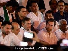 """Prove You're Ashamed"": Rahul Gandhi's Frontal Attack On Nitish Kumar"