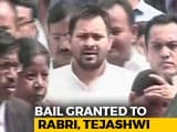 Video : Bail For Tejashwi Yadav In Corruption Case, Relief For Lalu Yadav's Party