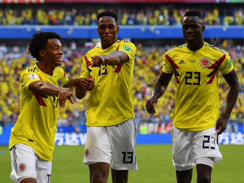 World Cup 2018: Yerry Mina Winner Sends Colombia Through To Last 16 As Senegal Go Out