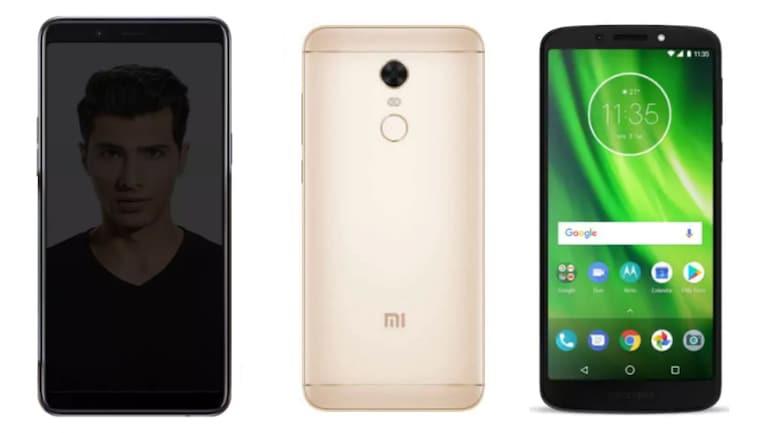 Moto G6 Play, Redmi Note 5, Realme 1: कौन है बेहतर?