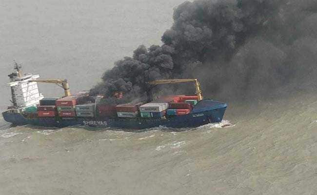 22 Sailors Rescued After Container Ship Catches Fire In Bay Of Bengal