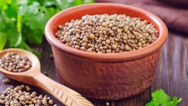 coriander seeds for weight loss