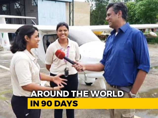 Video : Two Indian Women, One Mammoth Mission: Around The World In 90 Days
