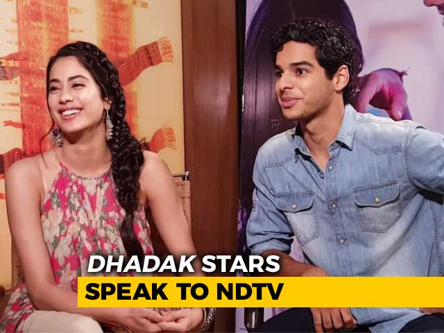 Video : Janhvi & Ishaan On <i>Dhadak</i>, Social Media Fame & More