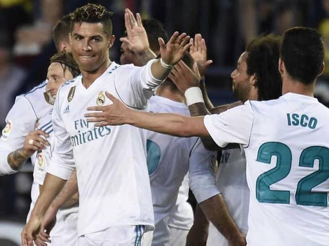 La Liga: Cristiano Ronaldo, Gareth Bale Score But Real Madrid Slip To 2-2 Draw At Villarreal