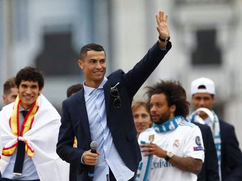 Cristiano Ronaldo Presents A Happier Face As Real Madrid Celebrate Champions League Triumph