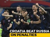 Video : Croatia Set Up England World Cup Semi-Final As Russia Crash Out