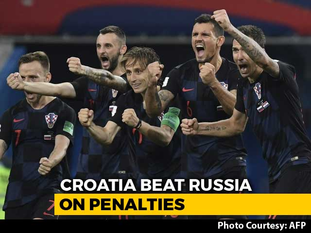 Croatia Set Up England World Cup Semi-Final As Russia Crash Out