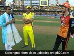 IPL 2018: मैच से पहले धोनी ने किया कुछ ऐसा मजाक, देखकर रह गया हर कोई हैरान