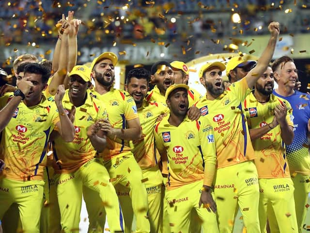 IPL 2018 Final: Chennai Super Kings Wild Celebration After Title Victory