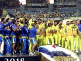 Video : Chennai Super Kings Clinch Third IPL Title By Outclassing SunRisers Hyderabad In Final
