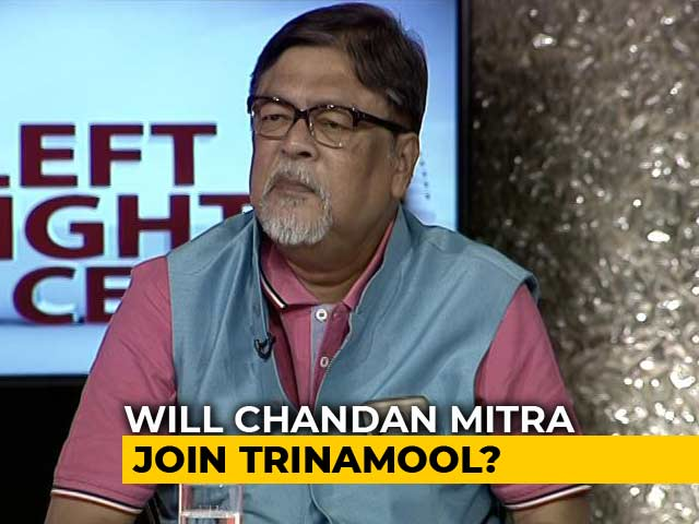 Video : Chandan Mitra Quits BJP Amid Buzz That He Will Join Trinamool Congress