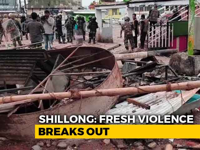 Video : Shillong Violence Spreads Despite Curfew, Army Moves Out 500 People