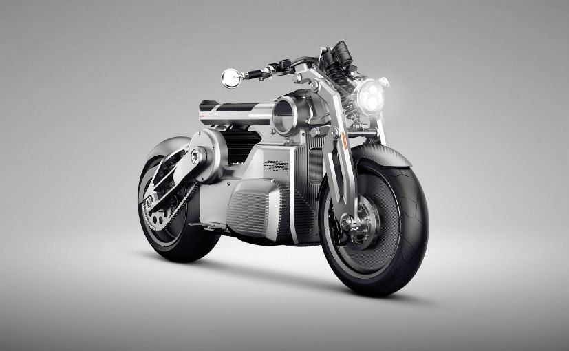 The Curtiss Zeus electric motorcycle will hit production in 2020
