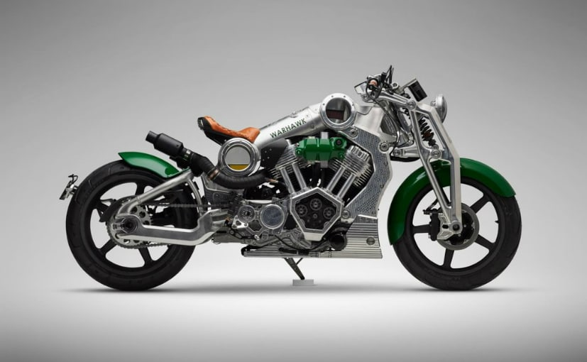 Each Warhawk motorcycle costs $105,000