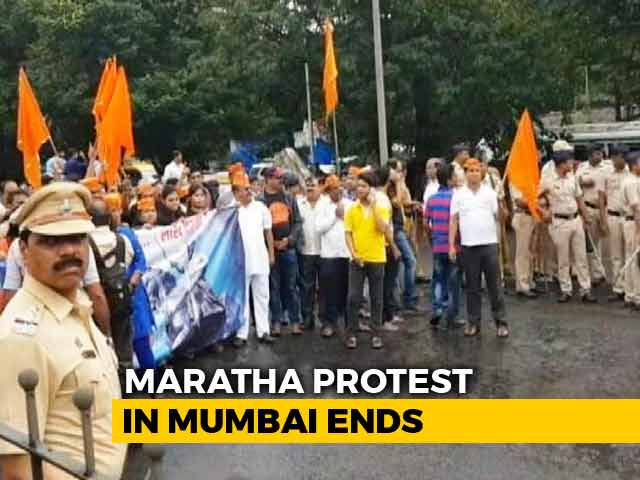 Video : Mumbai Bandh Called Off By Maratha Groups After Protests