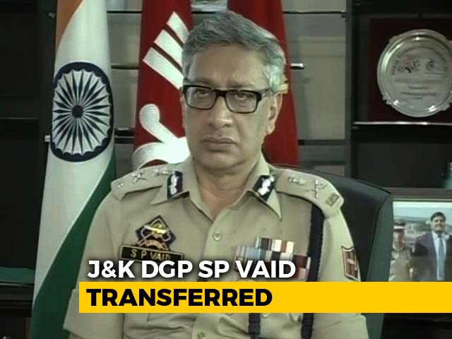 Video : Police Chief Replaced Days After Kashmir Kidnappings, Terrorists' Release