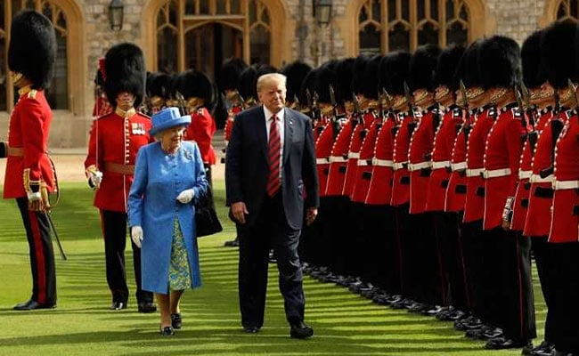 'Did Donald Trump Just Walk In Front Of The Queen?'