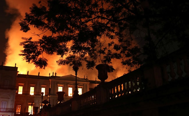 200-Year-Old National Museum In Brazil Gripped By Massive Fire