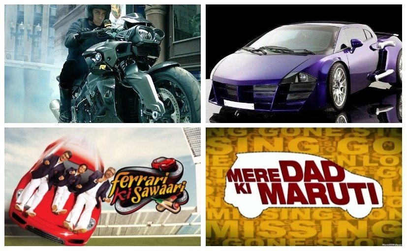Bollywood has had nice automobile based movies over the years