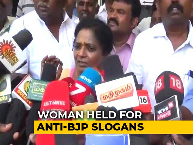 """Video : Woman Student Arrested After Shouting """"Fascist BJP Government"""" On Plane"""