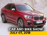 Video: The Car And Bike Show: BMW X4 And Lexus 500h