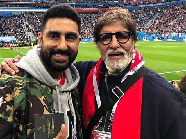 Thats how Amitabh Bachchan Including many stars celebrated France victory over Croatia