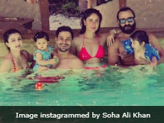 Kareena Kapoor, Saif Ali Khan And Taimur Pick Maldives To Chill With Soha, Kunal And Inaaya. See Pics