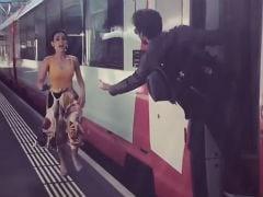 When In Switzerland: Mohit Sehgal And Sanaya Irani Tried (And Hilariously Failed) To Recreate <i>DDLJ</i> Scene