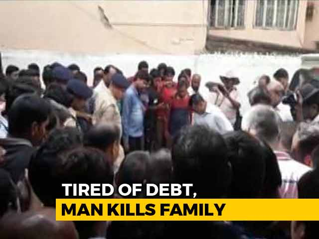 Video : Six Of A Family Found Dead. Suicide Notes Mention Rs. 50 Lakh Debt