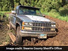 US Burglar Finds Himself In Deep S**t After Getaway Truck Gets Stuck In Manure