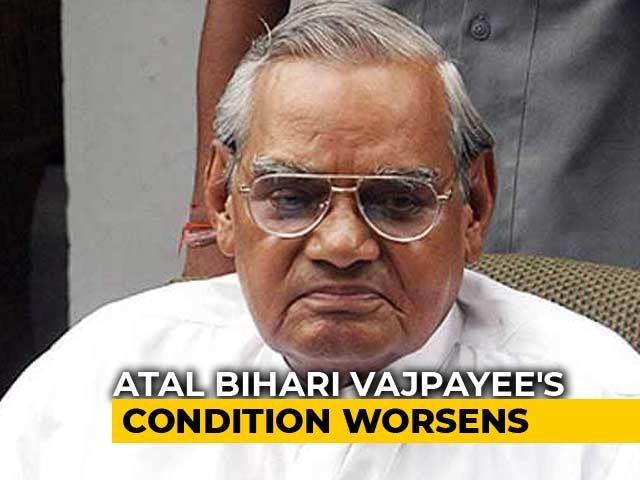 Video : Former PM Atal Bihari Vajpayee's Condition Critical, On Life Support