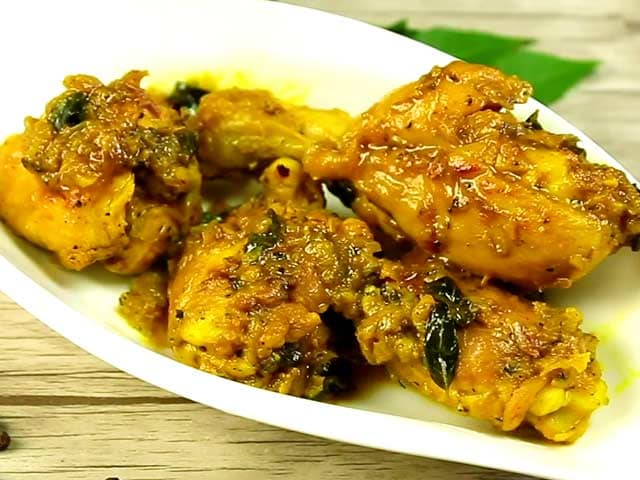 Video : How To Make Low Fat Pepper Chicken At Home