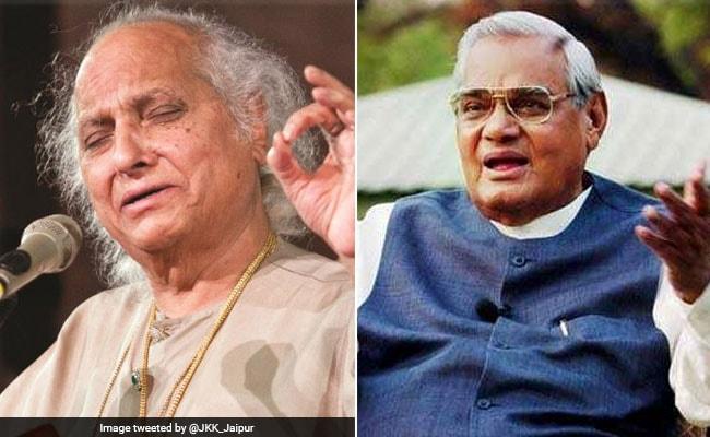 Atal Bihari Vajpayee Called Me 'Rasraj', Says Pandit Jasraj
