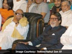 Karunanidhi Handed Me First National Award, Reveals Amitabh Bachchan In Tweet