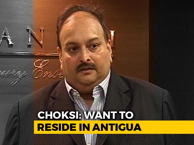 """Video : Mehul Choksi Says Applied For Antigua Citizenship For """"Business Interest"""""""