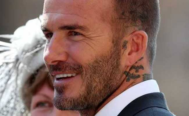david beckham victoria beckham royal wedding afp