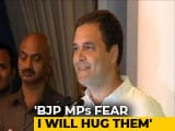 "Video : ""Now, BJP MPs Take Two Steps Back On Seeing Me,"" Says Rahul Gandhi"
