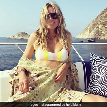 Heidi Klum Is Having The Time Of Her Life In Italy