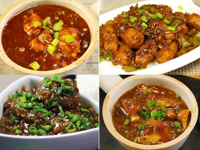 Video : 4 Must-Try Manchurian Recipes