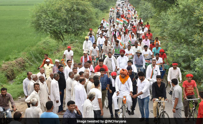Ambulance Stuck In Traffic During Congress Rally In Haryana, Infant Dies