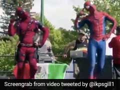 'पद्मावत'  के 'खली बली' पर Spiderman और Deadpool ने दिखाए ऐसे लटके-झटके, वीडियो हुआ वायरल