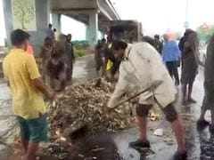 High Tide Spills Garbage Along Marine Drive, 12 Tonnes Removed