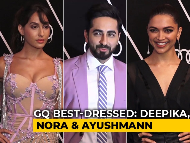 GQ Best-Dressed 2018: Deepika Padukone, Nora Fatehi, Ayushmann & Others