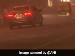 Dust Storm With 40 kmph Speed Hits Delhi After Heat Wave