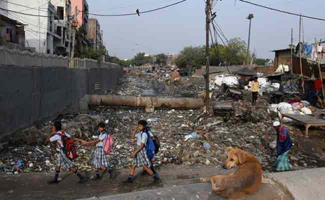 Delhi slum drowning in plastic as Environment Day focuses on India