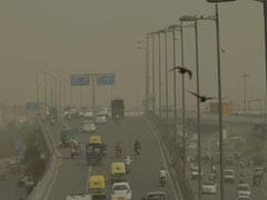 "Delhi Under A Thick Haze Of Dust, Pollution At ""Severe"" Level"