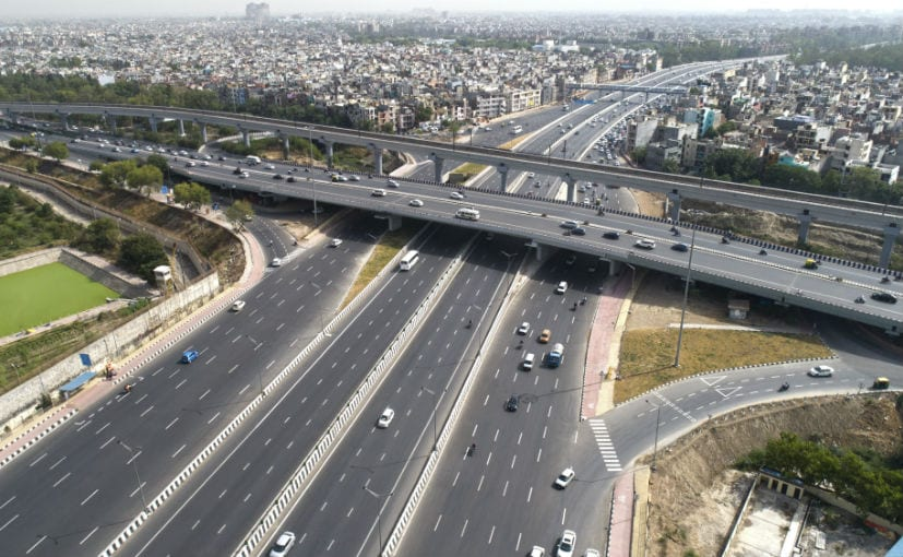 Both expressways were completed in a record time under 18 months, ahead of the scheduled period