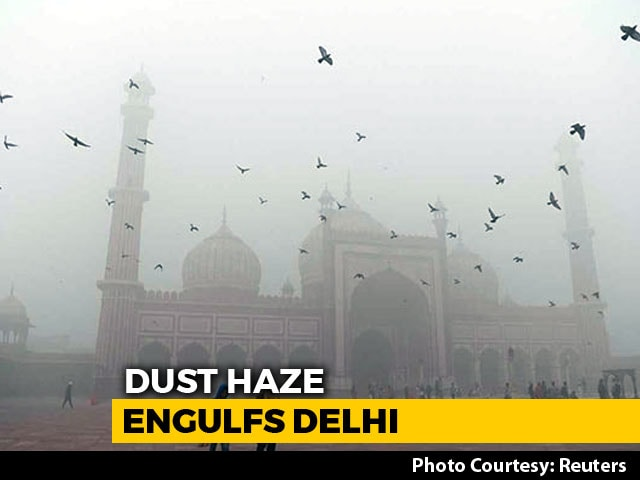 Video : Delhi Continues To Wear The Haze Blanket As Pollution Remains Severe