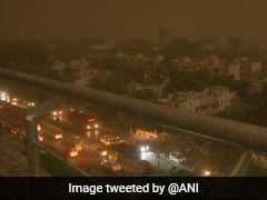 Delhi Weather: Rain, Dust Storm Hit Delhi With Strong Winds, 35 Flights Diverted